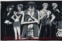 "free shipping Cartoon ""One Piece"" hip-hop  street ball sports towel 35*83cm turban, Cartoon towel, multifunction headkerchief"