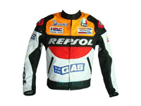 Free Shipping Automobile race repsol motorcycle clothing motorcycle clothing jacket oxford fabric clothing cross-country orange