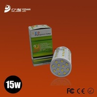 15W warm white/white led lighting AC 220-240V 86PCS SMD 5050 LED E27 led bulb lamp Corn Light Bulb 30pcs/lot