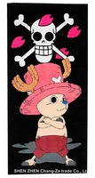 "hot  selling,free shipping Cartoon ""One Piece"" hip-hop  street ball sports towel 76*150 cm bath towel Beach towels Cotton towels"