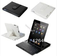 360 degree rotating Case Cover Stand Wireless Bluetooth Keyboard for iPad 2/3/4