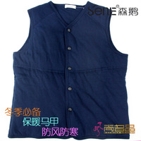 Thermal vest male thermal vest plus velvet thermal clip 110b vest cotton vest