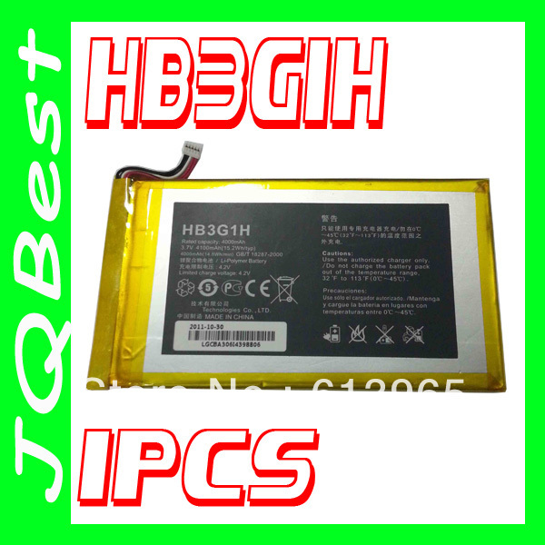 Original 4000mah HB3G1H Battery For Huawei MediaPad 7 Lite S7-301U T-Mobile Springboard Batterie Bateria AKKU Accumulator PIL(China (Mainland))
