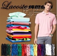NEW HOPE Free shipping Classic Brand Crocodile Logo POLO Men/Women Clothing Shirt Fashion Cotton 12 Color Men Short Sleeves