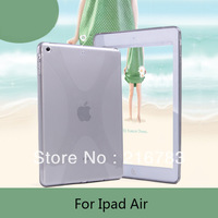 2014 Hot Sale High Quality X-Line Waterproof Case for ipad air, Silicone case for ipad 5 Free Shipping