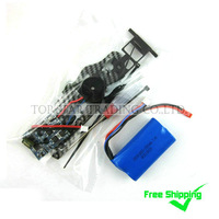 Combo-054 Free Shipping Sales Promotion MJX F45 F645 Spare Parts Accessories Brushless Motor Kit  + Battery 1500mAh