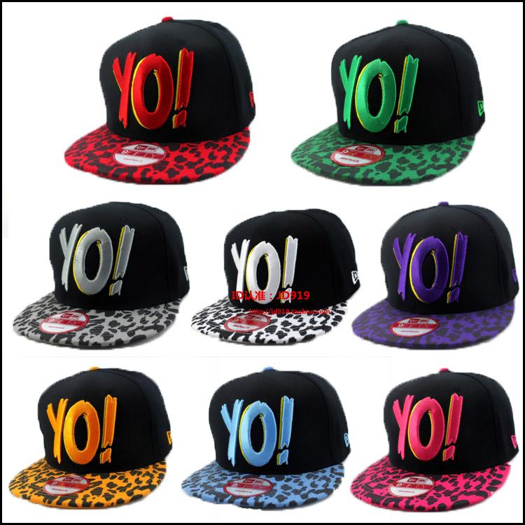 Music mtv leopard print spots rap hiphop adjustable hat baseball cap hiphop cap board cap(China (Mainland))