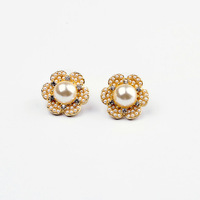 Free shipping Hot Fashion Jewellery latest fashion lady pearl Ear Acupuncture, jewelry wholesale