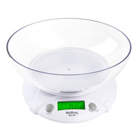 1g~7kg Multifunction Digital LCD Electronic Parcel Food Weight with Bowl Kitchen Scale Weighing Scales Cooking Tools Spaghetti