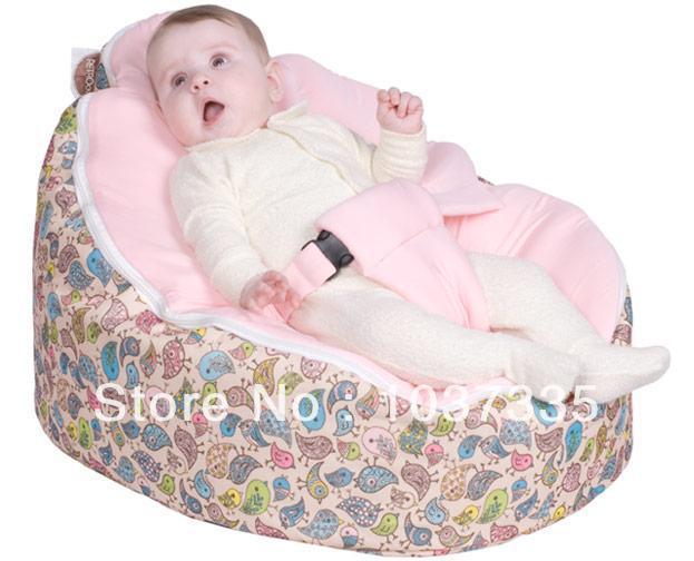 Modern Portable Baby Bean Bag Sofa Chair Cover Waterproof
