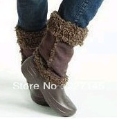 brand New Crocband Mammoth Nadia boot  Women's Winter cotton snow boot indoor home boot beach Sandals