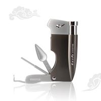 Free shipping Bf-823 smoking pipe lighter belt smoking pipe tools lighter gift box