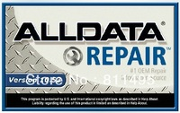 Free DHL shipment ALLDATA 10.53 latest version 2014 of car software in 750GB HDD