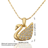 New Design 18K Gold Plated Necklace,Fashion Jewelry Necklace,18K Rhinestone Zircon Austrian Crystal Necklace SMTPN597