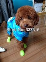 Hot Sale Pet Dog Shoes Waterproof Rain Dog Rain Shoes Boots Set S/M/L  free shipping