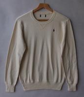 Men's clothing 100% cotton long-sleeve o-neck sweater basic body