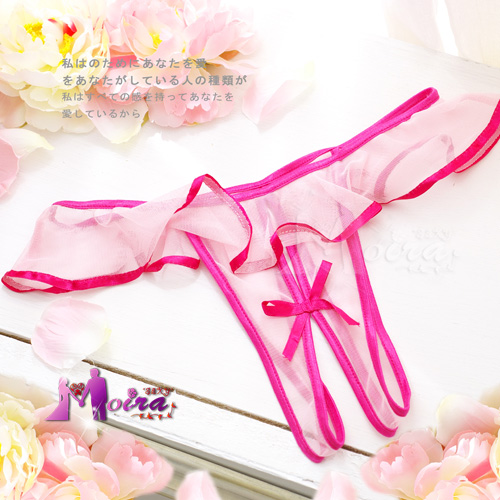 Sexy lace decoration open-crotch lutun t temptation transparent butterfly women's sexy panties thong k18(China (Mainland))