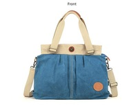 Eshow side bags for women Canvas Tote bags Canvas messenger bag for women Free Shipping
