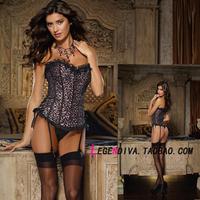Fashion royal corset body shaping underwear drawing abdomen slimming belt lace vest bra vest tiebelt