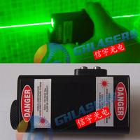 Double slider laser sword handheld  green laser props ktv laser pen green light flashlight Hand-held laser