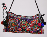 Free Shipping ! new fashion embroidered bags small bag gorgeous embroidery one shoulder cross-body women's handbag fashion bags