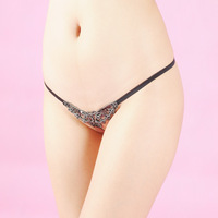 Sexy thong t temptation female perspective quality embroidery low-waist sexy comfortable panties