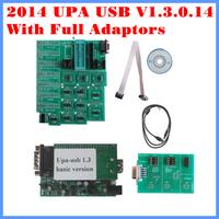 ECU Chip Tunning Tool 2014 UPA USB UPA-USB V1.3 Motorola ECU chip programmer  With Full Adaptors