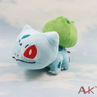 Top quality doll toy, Pokemon pokemon plush toy doll dolls frog seeds  , Free shipping!