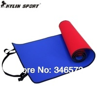 Compound 7mm two-color yoga mat broadened lengthen thickening yoga mat fitness gym equipment Wholesale