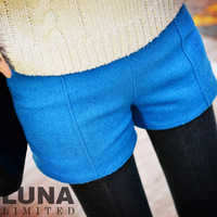 Luna fashion gem blue stereo barege shape mending autumn and winter boots shorts dk00352