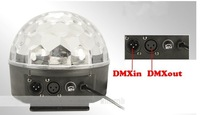 New Digital  LED Crystal Magic Ball Effect Light DMX Stage Lighting free shipping wholesale