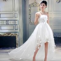 2013 train wedding dress formal dress bride princess
