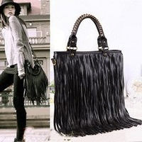 2013 bag fashion tassel women's handbag vintage street bag shoulder bag messenger bag handbag women's