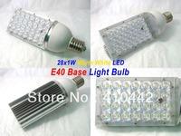 Bridgelux 30W E40 LED Street Light Roard Bulb Garden Outdoor Lamp High Power Cool|Warm White by Express 2pcs/lot
