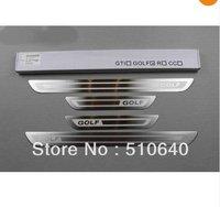 Door Sill Scuff Plate For Volkswagen VW GOLF 5 MK5/Rabbit 2006 2007 2008 GTI  vgg