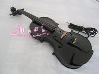 Box-type electric violin electro-acoustic violin black violin speaker