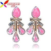 Серьги висячие Jewelries4U  E1377