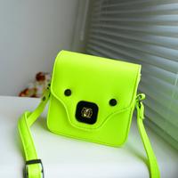 2013 bolsos free shipping women handbag new arrival mini bags neon bags sweet shoulder bag small fresh female bags
