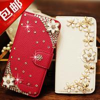Phone case  for zte   v987 v967s u817 u887 n980 holsteins flip rhinestone protective case
