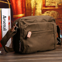2013 Brief man bag bag shoulder bag casual bag small bag male canvas bag messenger bag free shipping