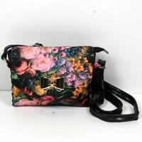 New Arrival fashion bags for women 2014 autumn women's handbag pretty  vintage oil painting bag print shoulder messenger bag