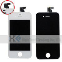10pcs/lot 100% Test Original lcd Display For iphone 4S 4G CDMA atat lcd digitizer touch screen with Frame assembly Parts