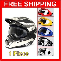 New Arrivel Motorcycle Goggles Glasses Snow Scooter ATV Ski Motocross Dirt Bike PC Lens Clear
