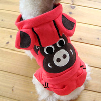 Pet teddy small dogs schnauzer dog autumn and winter clothes