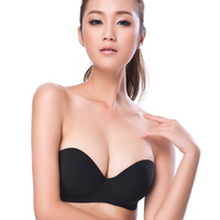 Free Shipping Bra sexy formal dress cup one piece sports underwear seamless push up bra 6201