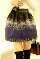 New  Style Nest Coil Print Mini Skirt  Women Short Bud 3 Colors For Choose