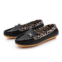 Free Shipping New Arrival 2014 Spring and Autumn Flats for Women Flat heel Shoes Fashion Leopard Flats Women Shoes#Z0073