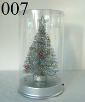 Mini Artificial Christmas Tree Decor with Multi Color LED Lights 007