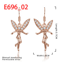 New Arrival 18K Gold Plated Earring,Fashion Jewelry Earring,18K Rhinestone Austrian Crystal Earrings Women Jewelry SMTPE696