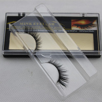 Free shipping wholesale D16 handmade mink hair false eyelashes animal lips lengthen curling natural dense